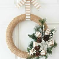 Ideias para você criar a sua própria Guirlanda de Natal.